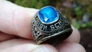 Ring Lost In US In 1973 Found In Finnish Forest