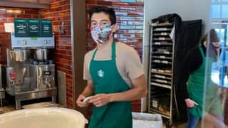 $27,000 Raised For Barista Who Had Run In With Customer Who Refused To Wear Mask