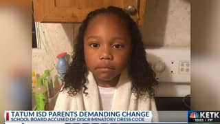 Woman Says School Told Her Grandson Would Need To 'Cut Off His Long Hair Or Wear A Dress'