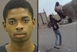 Teenager Shot Dead Seconds After Pulling A Gun On Cop
