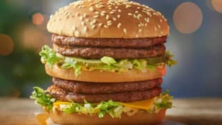McDonald's Christmas Menu Includes A Double Big Mac