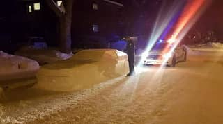 Canadian Made A Snow Car That Looked So Real Police Nearly Gave It A Ticket