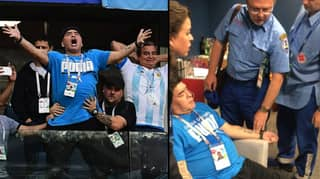 Diego Maradona 'Hospitalised' After Argentina Game At World Cup