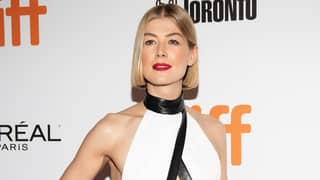 Rosamund Pike Says Film Poster Was Edited To Make Her Chest Look Bigger