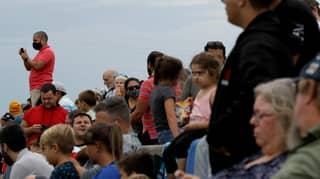 Around 150,000 People Defied Coronavirus Advice To Watch Failed SpaceX Launch