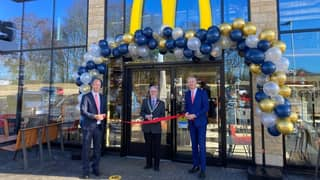 Only English County Without A McDonald's Gets Its First Branch