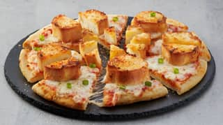 Domino's Australia Has Launched Garlic Bread Pizza