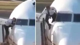 Pilot Caught Climbing Through A Cockpit Window At Heathrow Airport