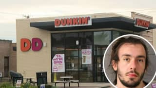 Dunkin' Donuts Worker Arrested After Police Officer Discovers 'Thick Piece Of Mucus' In Coffee