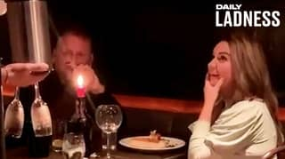 Man Pranks Mate On First Date With 'Will You Marry Me' Dessert