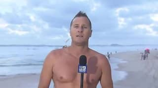 TV Weatherman Dives Into Ocean After Live Report To Pull Body From The Water