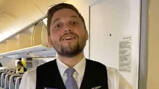 Virgin Australia Flight Attendant Reveals Secret Aeroplane Emergency Escape Door