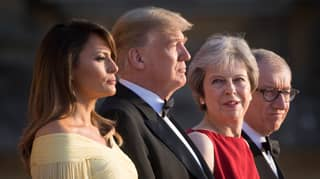 Find Someone Who Looks At You The Way Theresa May Looks At Trump