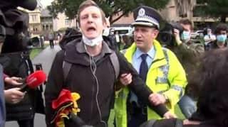 Sydney Black Lives Matter Protest Organiser Arrested And Fined Before Event Began