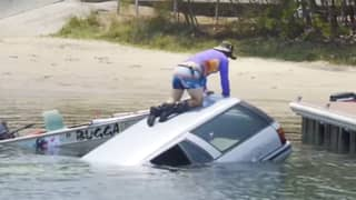 YouTuber Facing $1 Million Fine Or Jail Time For Ford Falcon Boat Ramp Prank