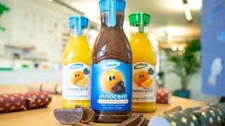 Innocent Drinks Trolls Followers With 'Chocolate Orange Juice' For Christmas