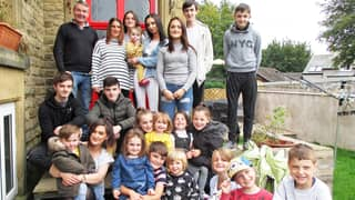 UK's Largest Family Has Welcomed Baby Number 22