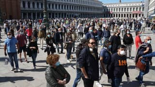 Italian Residents Fill The Streets As Lockdown Enters Phase Two