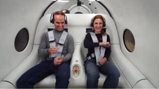 Virgin Hyperloop Hosts First Human Passenger Test