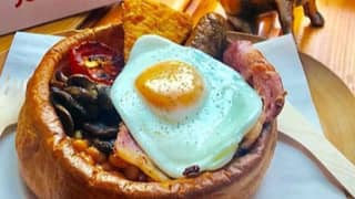 The Fry-Up In A Yorkshire Pudding Is Here To Make Your Breakfast Dreams Come True