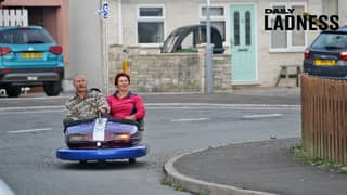 Man Buys £30 Dodgem From eBay And Turns It Into Roadworthy 8mph Vehicle