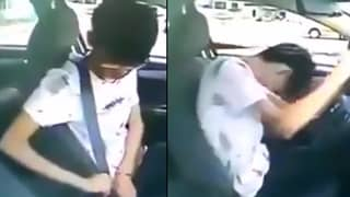 LAD Fails Driving Test Because He Can't Work A Seat Belt