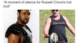 Russell Crowe Responds To Being Body Shamed With One Simple Tweet