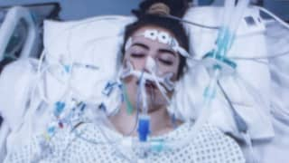 Mum Shares Shocking Photo Of Daughter Fighting For Her Life After Taking MDMA