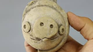 Clay Figure Believed To Be Over 3,000 Years Old Looks Like Angry Birds Character