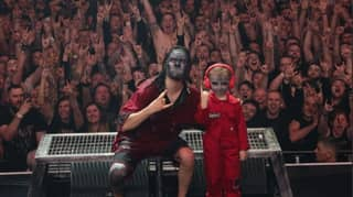 Kid, 5, Meets Slipknot After Video Of Him Drumming Goes Viral