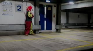 'Killer Clown' Headbutted On Camera After Trying To Prank The Public