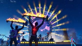 Travis Scott Performs Mind-Bending Virtual Concert In The World Of Fortnite