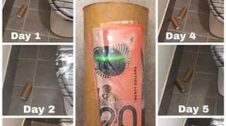 Mum Sticks Money To Rubbish To See If Anybody Picks It Up