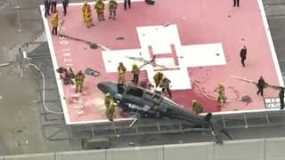 Helicopter Carrying Donor Heart Crashes On Hospital Roof Before Medic Drops It On Floor
