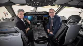 Qantas Non-Stop Flight From New York To Sydney Has Landed