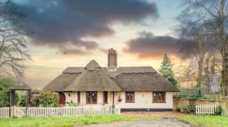 ​Thatched Cottage That Backs Onto Tiger Enclosure On Sale For £375,000
