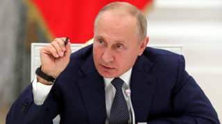 Russian President Vladimir Putin Nominated For Nobel Peace Prize