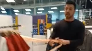 Man Charged After Ripping Plastic Coverings Off 'Non-Essential' Items In Tesco