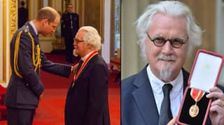 Billy Connolly Has Been Knighted At Buckingham Palace
