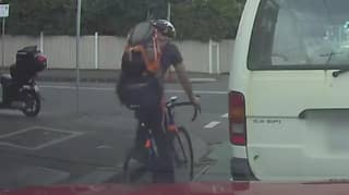 People Are Divided On Who Is To Blame After Cyclist Flies Over Car Bonnet