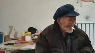100-Year-Old Man Smokes, Drinks And Doesn't Worry About What He Eats