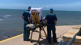 Queensland Paramedics Grant Dying Patient's Final Wish Of Seeing The Ocean One Last Time