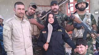 Meet The Grandma Who Is Decapitating ISIS Fighters In Iraq