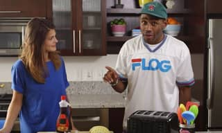 WATCH: Here's Tyler, The Creator Making Waffles On 'The Greatest Cooking Show Of All Time'