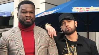 50 Cent Reveals 'Random' Texts He Receives From Pal Eminem