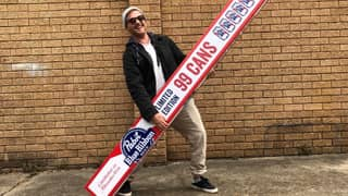 Pabst Blue Ribbon Is Bringing Its 99-Pack Of Beer To Australia