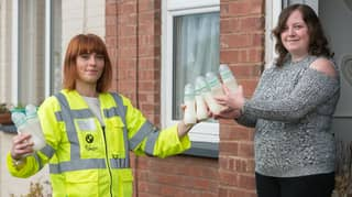 Mum Nicknamed The 'Breast Milk Milkman' Collects Gallons Of Milk For Hungry Babies