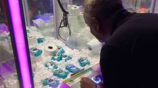 Arcade Owner Fills His Claw Machine With Soap And Toilet Paper
