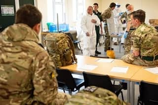 Army Will Help With Rapid Testing of UK Towns and Cities