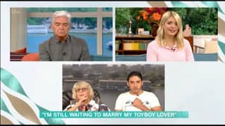 Holly Willoughby And Phillip Schofield Told Off By 35-Year-Old Man With 81-Year-Old Girlfriend